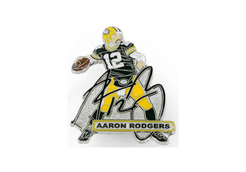 Green Bay Packers Aaron Rodgers Player Signature Pin