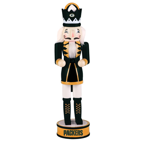"Green Bay Packers 14"" Holiday Nutcracker, Version 2"