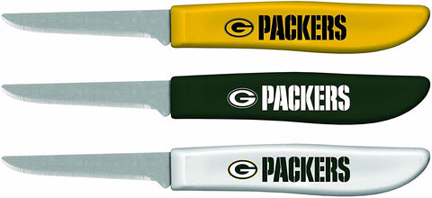 Green Bay Packers Paring Knife Set, 3-Pack