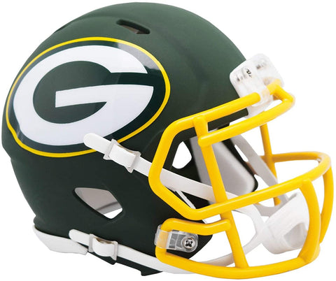Green Bay Packers AMP Alternate Speed Mini Helmet