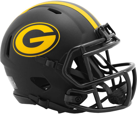 Green Bay Packers Eclipse Alternate Mini Helmet