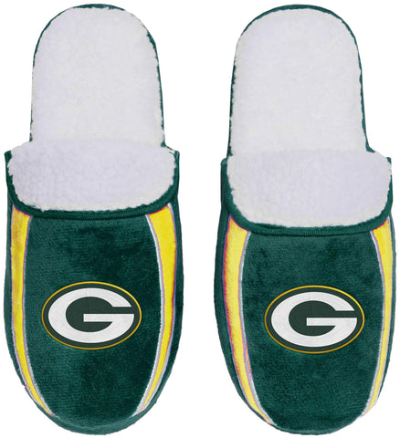 Green Bay Packers Men's Sherpa Slide Slippers