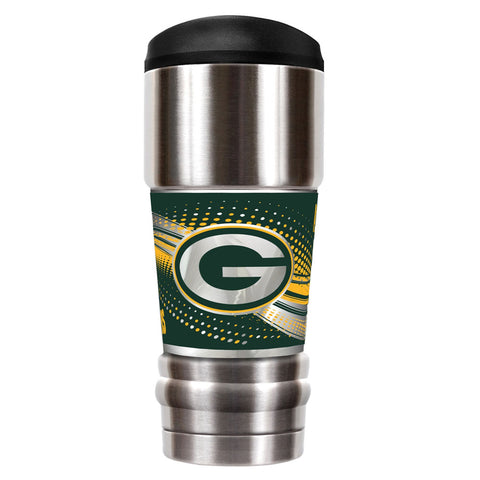 Green Bay Packers The MVP 18oz Platinum Travel Tumbler