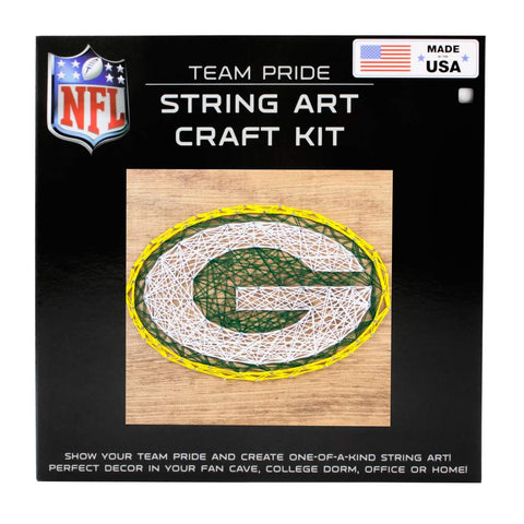 Green Bay Packers String Art Craft Kit