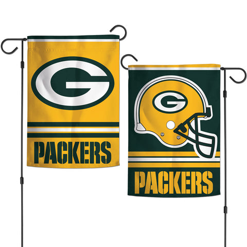 "Green Bay Packers 2-Sided Garden Flag, 12.5"" x 18"""