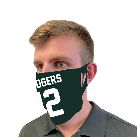 Green Bay Packers Aaron Rodgers #12 Fan Mask