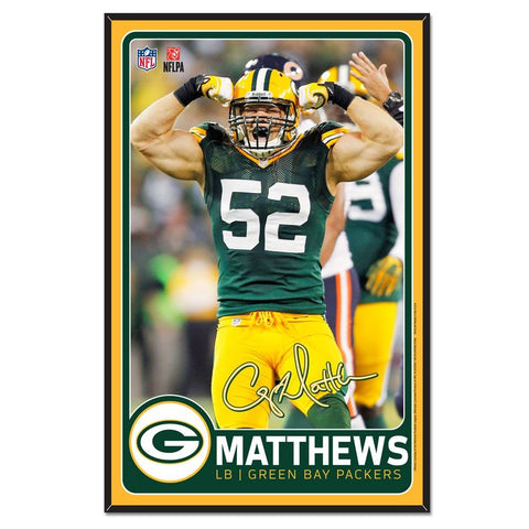 green bay packers,clay matthews,sign