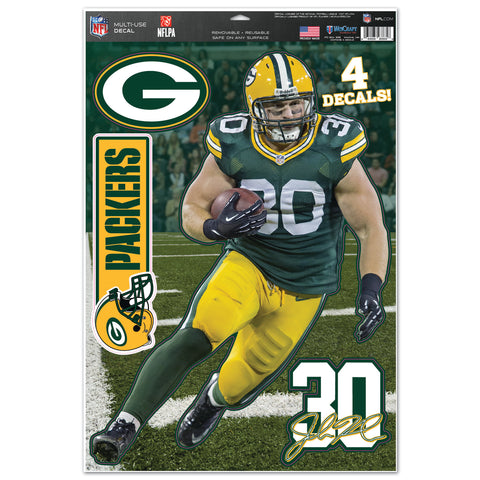 Green Bay Packers John Kuhn Multi-Use Decals