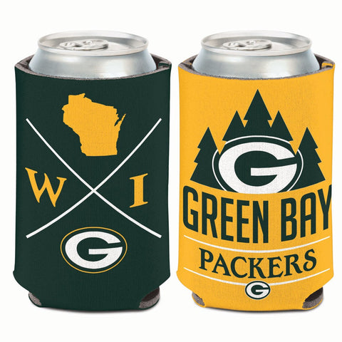 Green Bay Packers Hipster 12oz Can Cooler