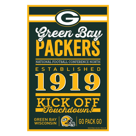 wincraft,win,craft,green bay packers,home,sign,signage,home,decor,decoration,plaque,poster