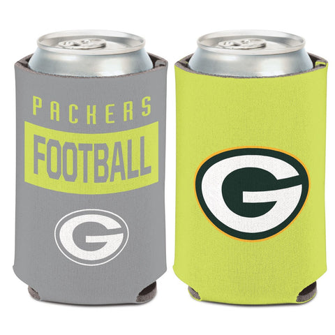 Green Bay Packers Neon 12oz Can Cooler