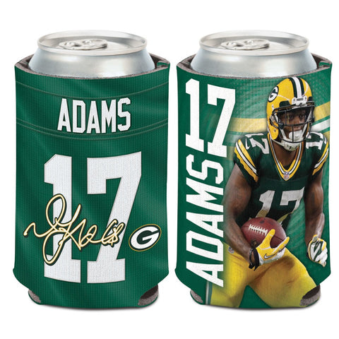 Green Bay Packers Davante Adams #17 12oz Can Cooler