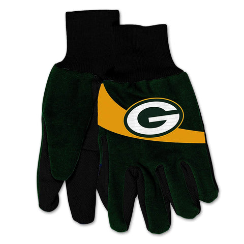 Green Bay Packers Sport Utility Gloves - Green/Yellow