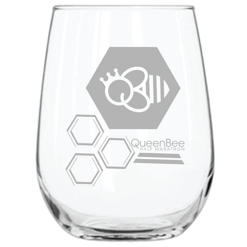 QB 21 oz. ARC Stemless Wine Glasses - Clear