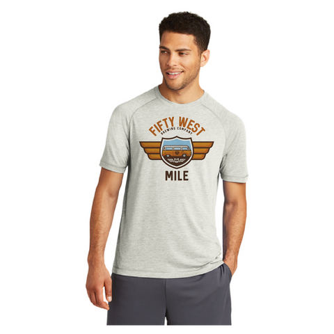 Beer Series - 50 West Mile Logo Tee