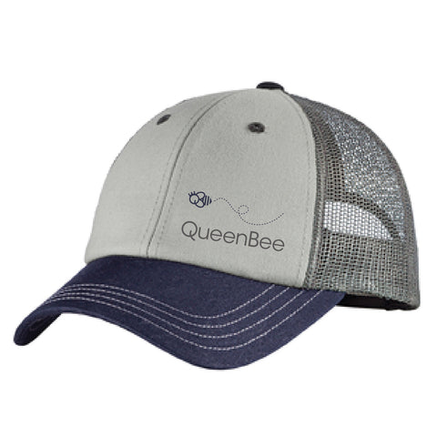 QB District ® Tri-Tone Mesh Back Cap
