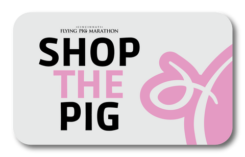 Flying Pig Marathon Merchandise Gift Card