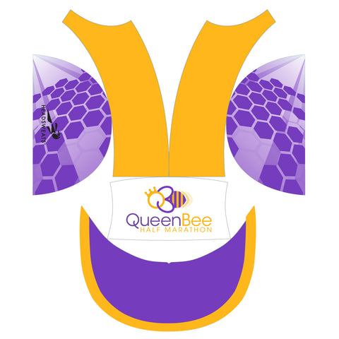 QUEEN BEE RACE HAT- PURPLE/PINK