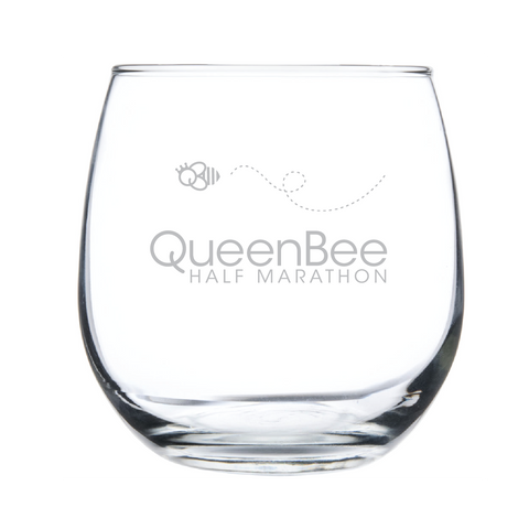 Queen Bee Stemless Red Wine - Etch