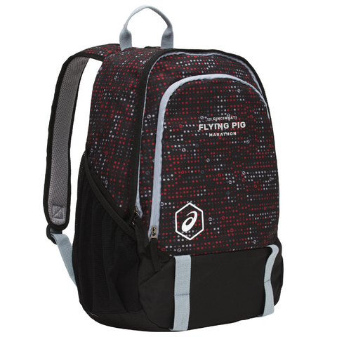 ASICS UNISEX BTS BACKPACK 36 TRAINING ACCESSORIES- Red /Black