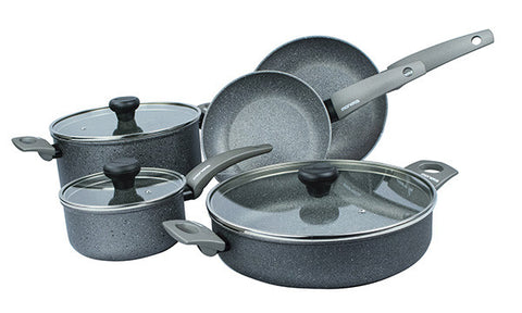 13068W Greystone 8 Piece Cookware Set Moneta