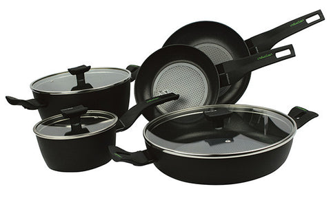 13688W - Nova Protection Base Induction 8 Piece Cookware Set