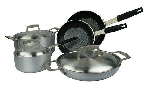 16088W PRO Protection Base 8 Piece Cookware Set Moneta