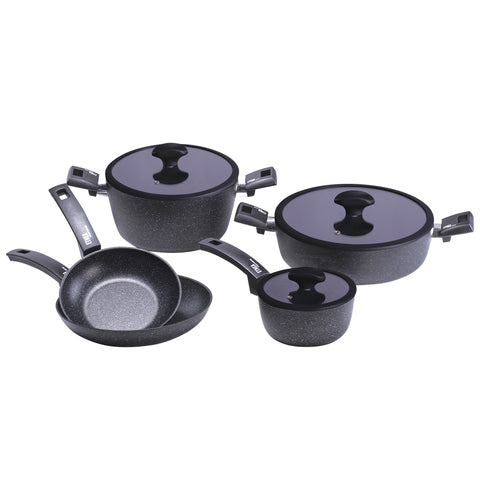 18656508 Etnea 8 Piece Cookware Set Moneta