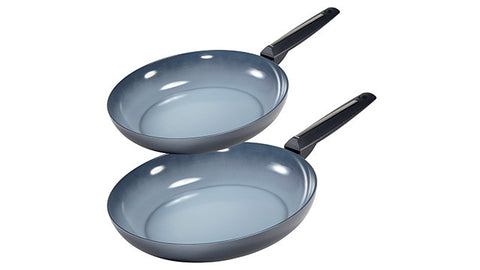 23901248 Azul Gres 2 Piece Fry Pan Set Moneta