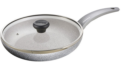 3060128L Greystone 11.5 Inch Fry Pan with Lid Moneta