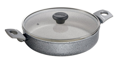 3060224L Greystone 3 Quart Sauté Casserole with Lid Moneta