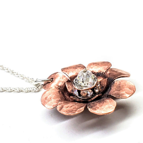 First Ever Copper Spinner Necklace by Alexa Martha Designs