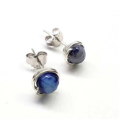 Child Abuse Awareness Ear Studs