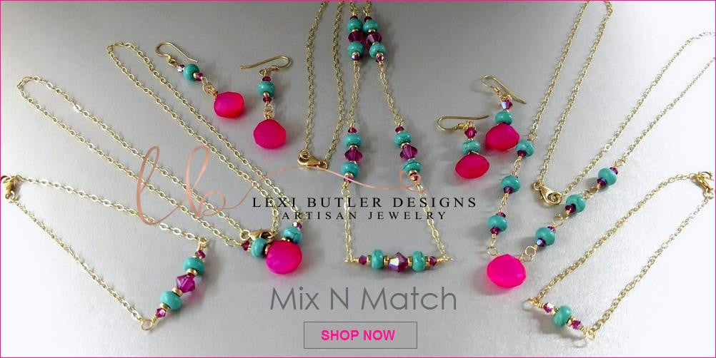 Mix and Match Jewelry Collection - Lexi Butler Designs