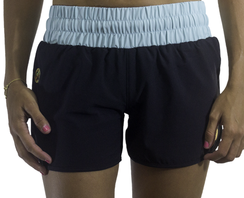 Leone Short - Black/Seafoam