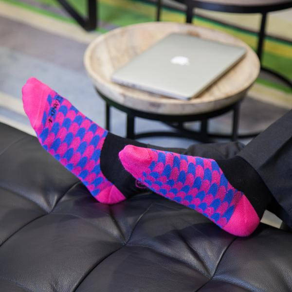 Fun socks that go with your suit