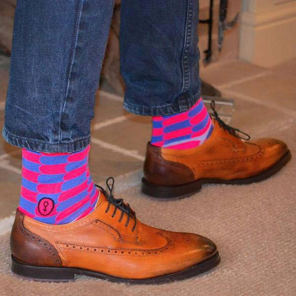 Colourful socks say more about you than you think