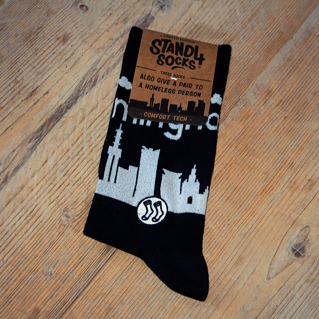 Birmingham Skyline Sock (wholesale)