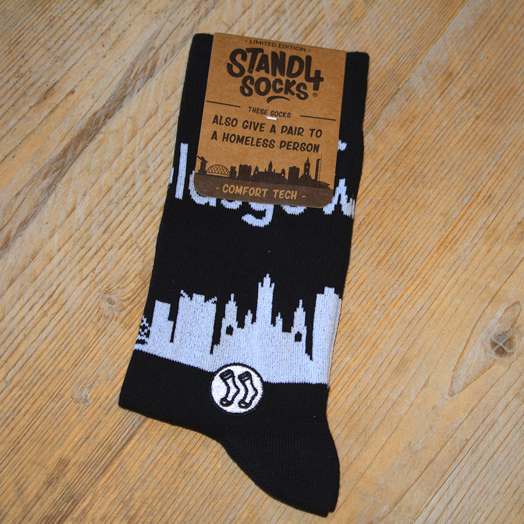 Glasgow Skyline Sock (wholesale)