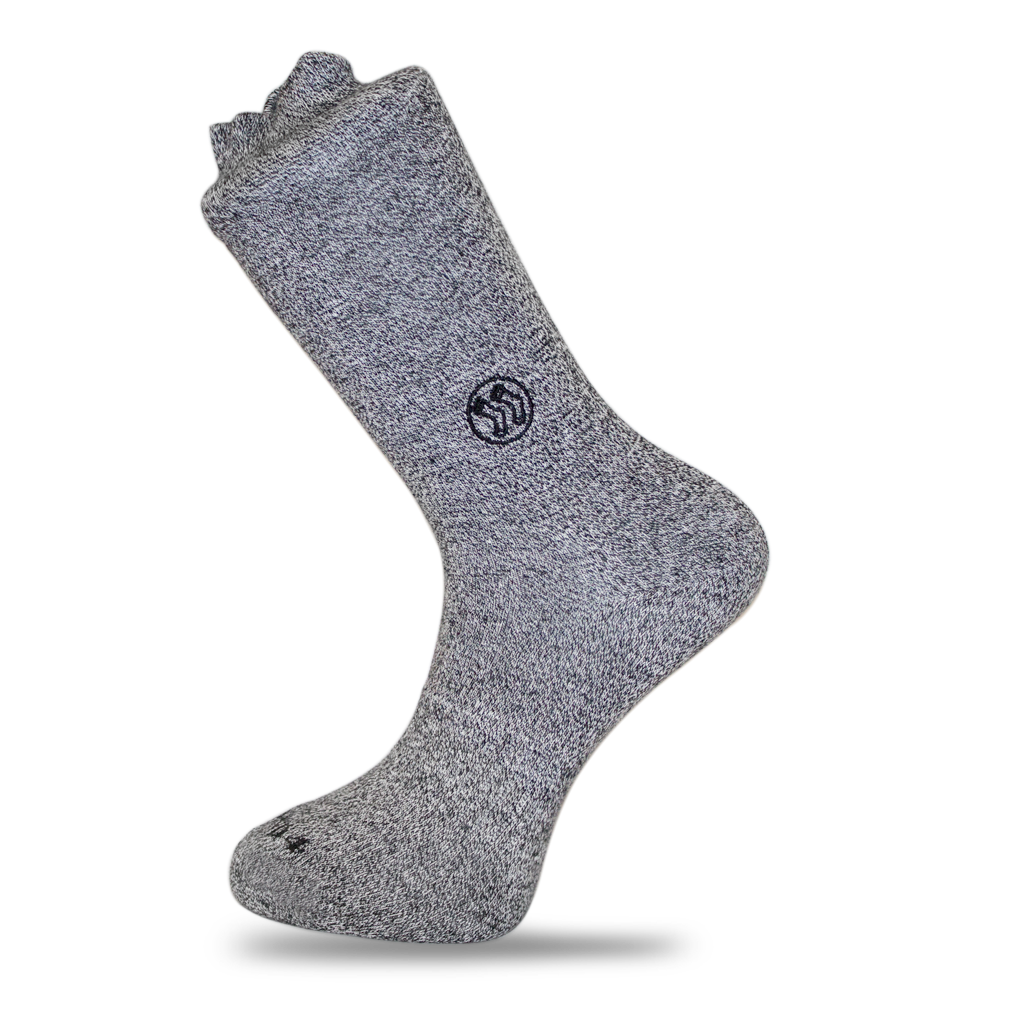 Homeless Grey Sock - Twisted Cotton (wholesale)