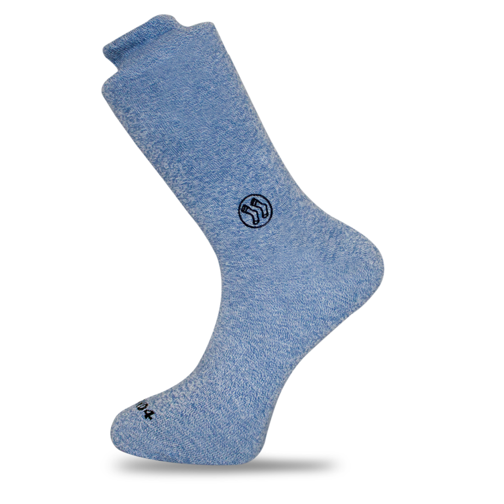 Homeless Blue Sock - Twisted Cotton (wholesale)