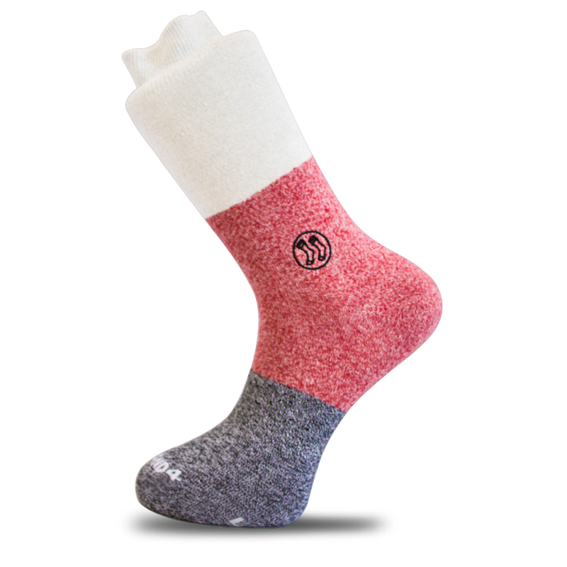 Oxford Layered Sock - Twisted Cotton