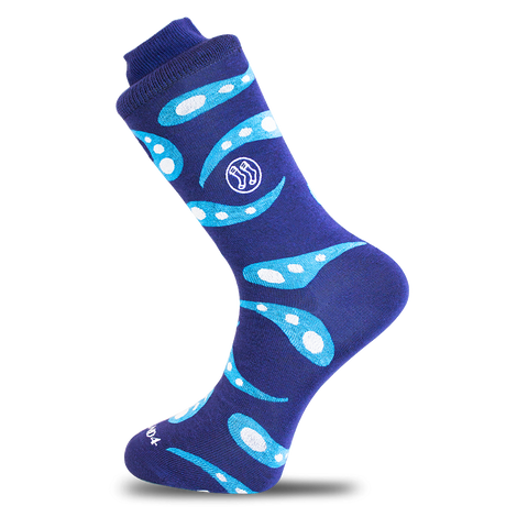 Bubble Pop Blue Sock