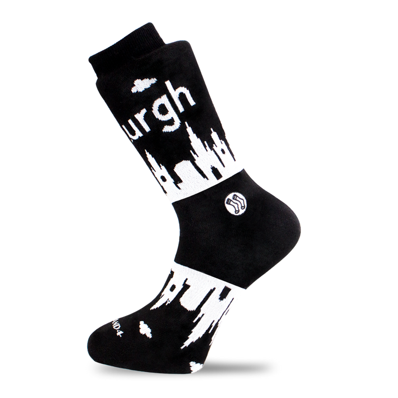 Edinburgh Skyline Sock - Combed Cotton (wholesale)