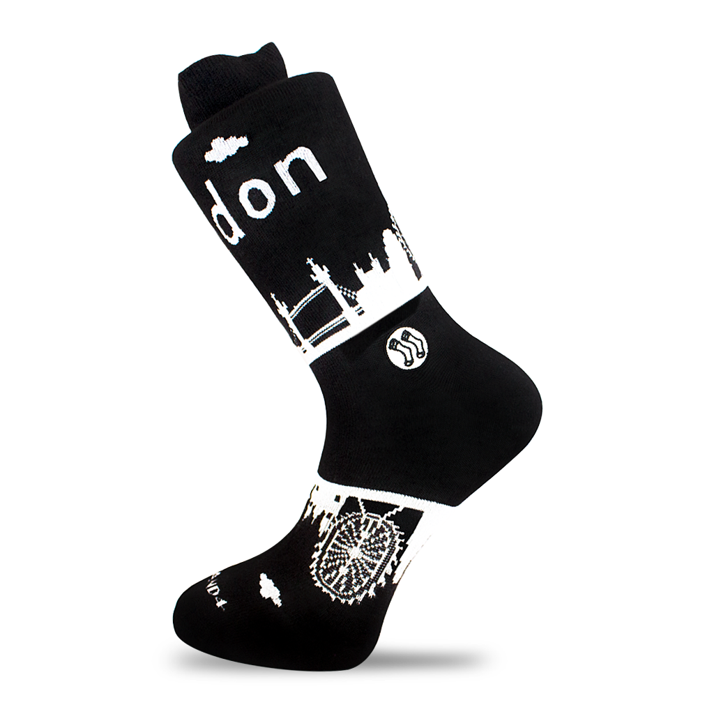 London Skyline Sock (wholesale)
