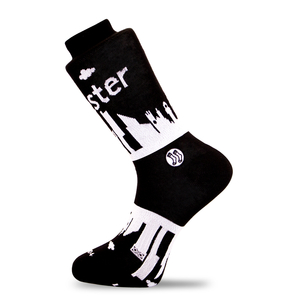 Manchester Skyline Sock (wholesale)