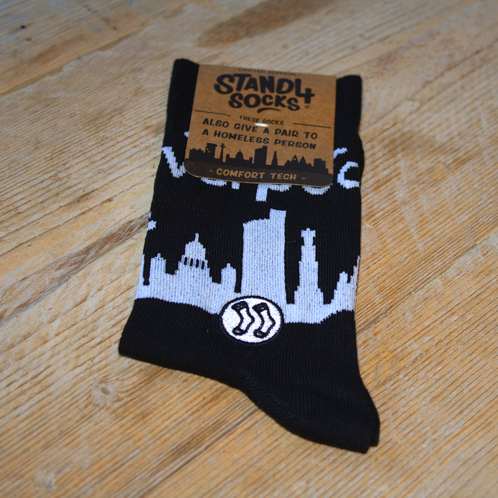 Liverpool Skyline Sock (wholesale)