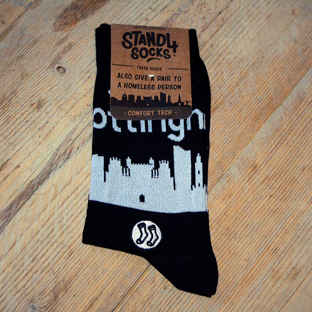 Nottingham Skyline Sock (wholesale)