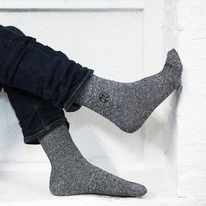 Homeless Blue Sock - Twisted Cotton