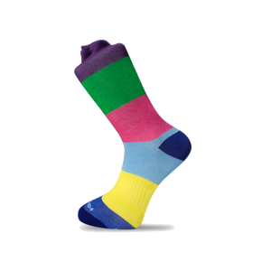 Kids Statement Stripe Sock - Cotton